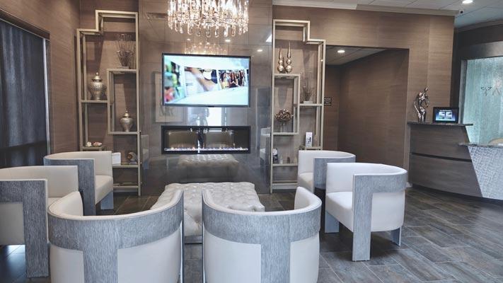 Amarillo Hair office interior